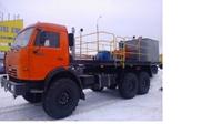 Цементировочный агрегат на шасси КАМАЗ